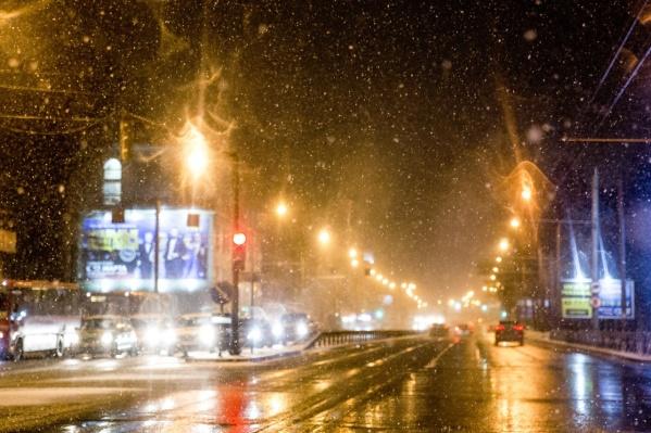 Ночью температура воздуха опустится до -3