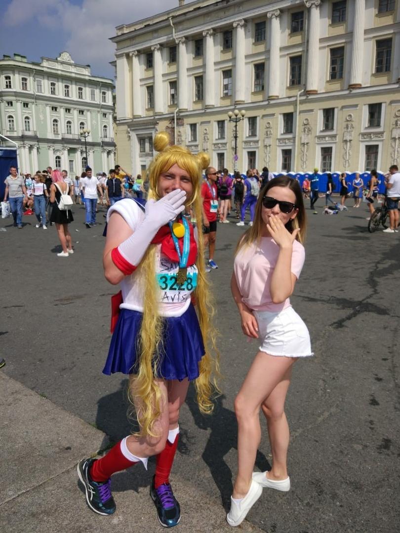 Сейлор Мун в Санкт-Петербурге