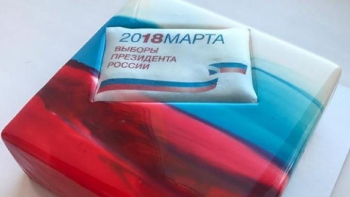 Кондитер из Уфы сделала торт к выборам президента страны