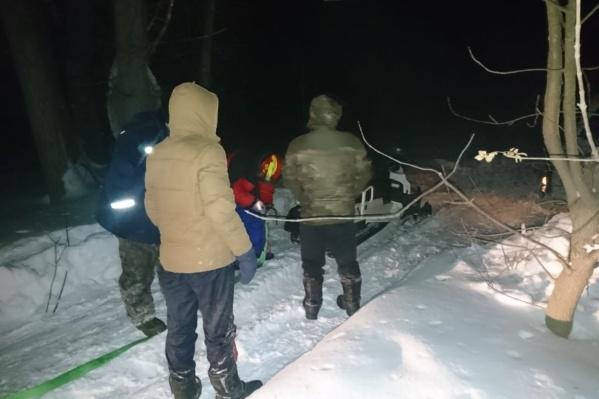 Рыбакам помогли вырваться на свободу