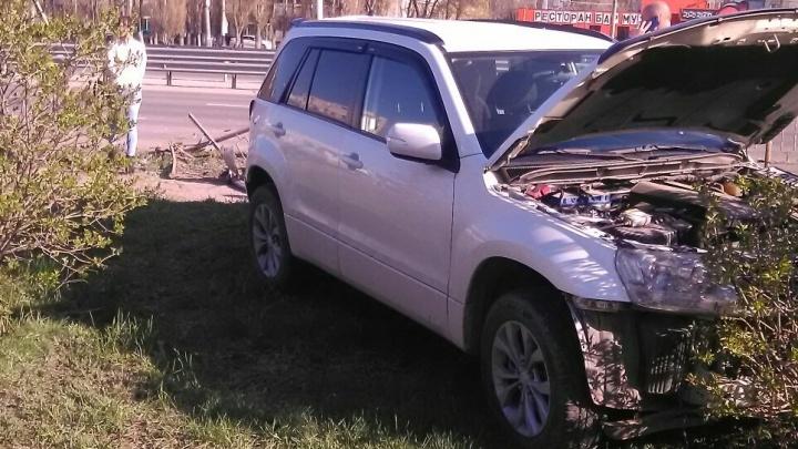 Пострадали двое детей: эпичные погоню и задержание водителя фуры сняли на видео в Волгограде