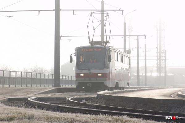 Сейчас до «Самара Арены»ездит только один постоянный трамвайный маршрут