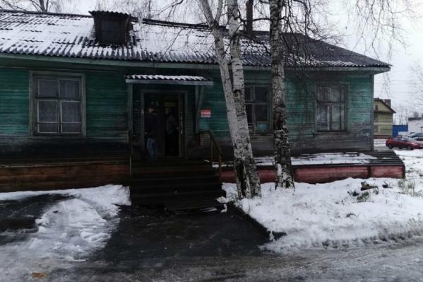 Возгорание произошло в одноэтажном деревянном доме