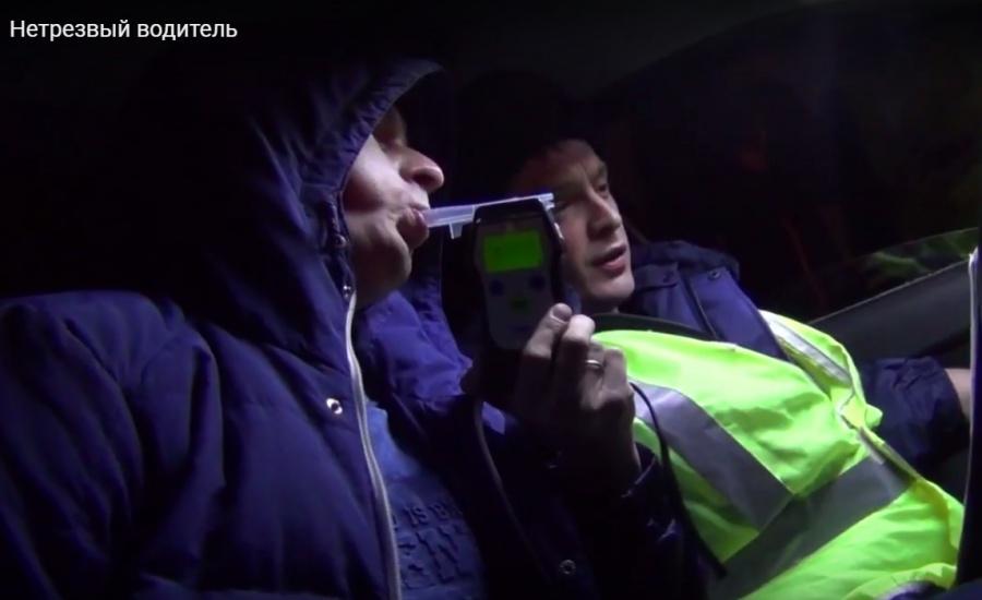 ВКрасноярске «трезвый водитель» оказался наркоманом