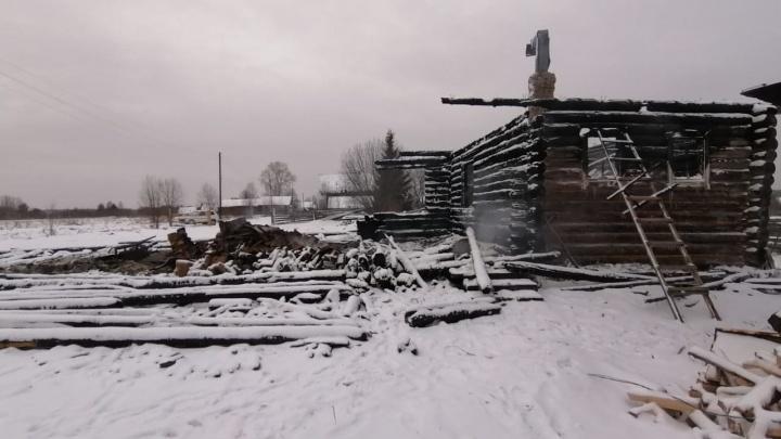 В Каргопольском районе девушка с церебральным параличом погибла в горящем доме