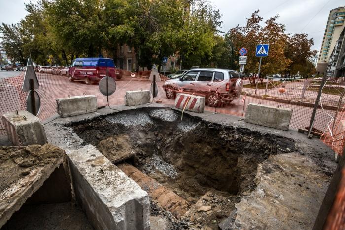 Раскопки на перекрёстке улиц Революции и Депутатской