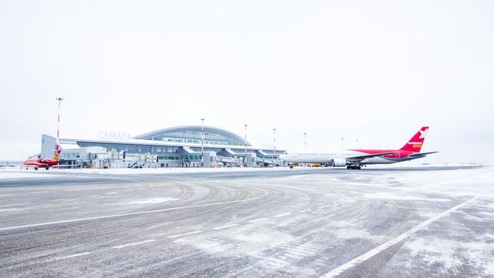Из-за закрытия взлетно-посадочной полосы в аэропорту Курумоч задержали 7 рейсов