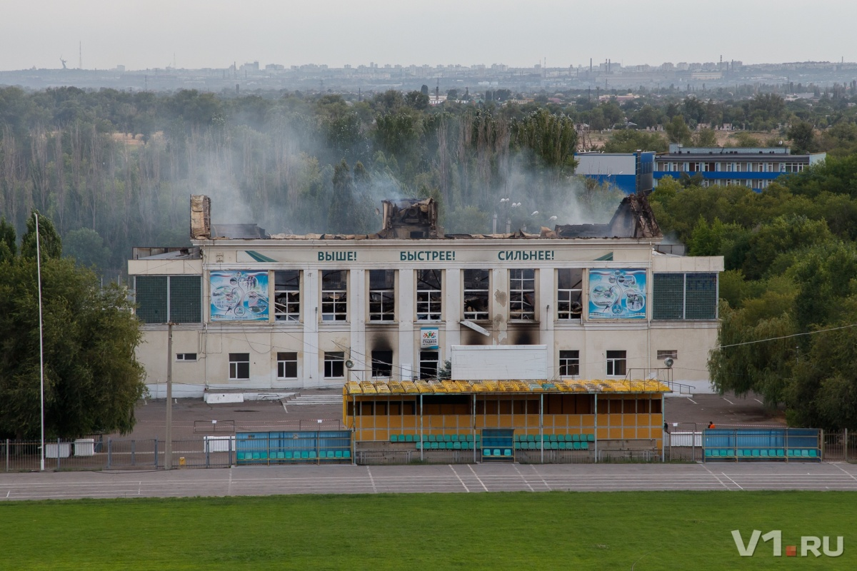 Решение о дальнейшей судьбе здания примут спустя полтора месяца после пожара