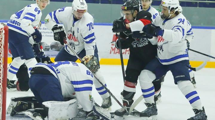 Третье поражение подряд: «Зауралье» со счётом 3:1 уступило «Тамбову»