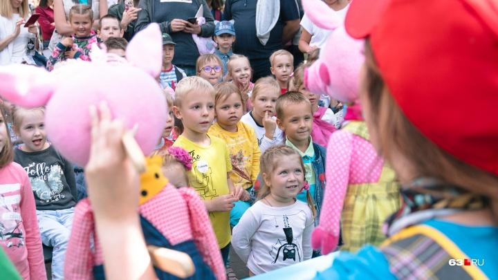 Распределение мест в новых детских садах Самары начнется 22 октября