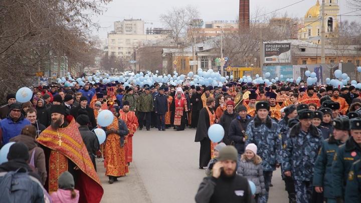Центральные улицы Екатеринбурга закроют для движения ради крестного хода
