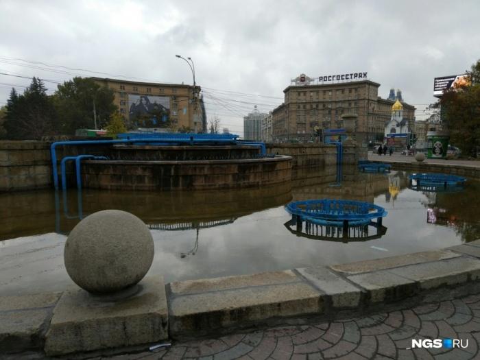 Дольше всех будет работать фонтан в Первомайском сквере