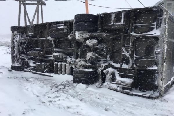 В Норильске выпал первый снег и не все к этому были готовы