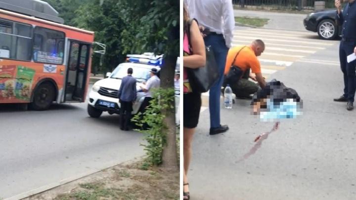 В Ростове троллейбус насмерть сбил пенсионера