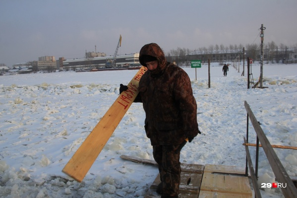 Ледовые переправы закрываются по всей области