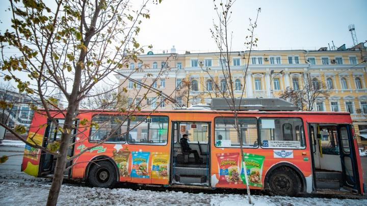 От Сельмаша — до Центрального рынка: по проспекту Ленина пустят троллейбусы