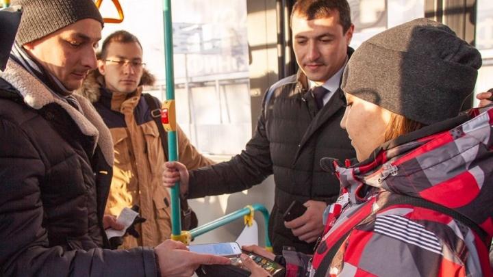 В автобусах ГУП «Башавтотранс» РБ появился сервис бесконтактной оплаты проезда