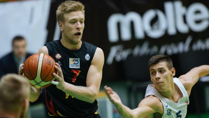 Баскетбол: БК «Новосибирск» обыграл «Урал»