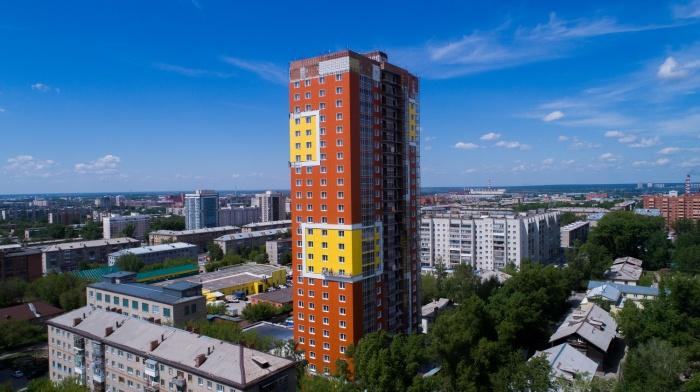 Строящийся жилой комплекс «Аксиома» на ул.Костычева, 36 (стр.)