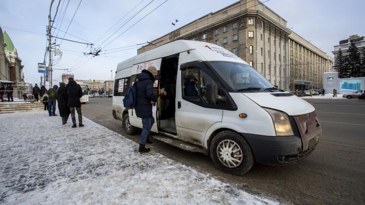 В маршрутках Новосибирска поставят кассы