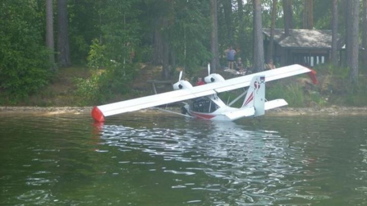 Это залёт: в Челябинской области ищут пилота гидросамолёта, припарковавшегося на озере Тургояк