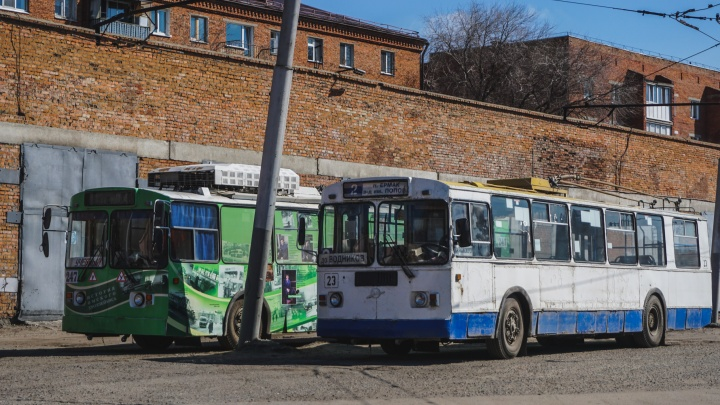 Стало известно, до какого числа омские троллейбусы будут ездить до Водников
