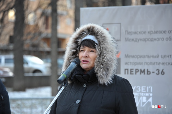 Татьяна Марголина, экс-омбудсмен, постоянный участник акции