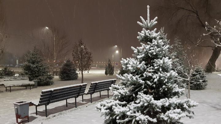 На Волгоград обрушился снегопад: следим за ситуацией в городе в режиме онлайн