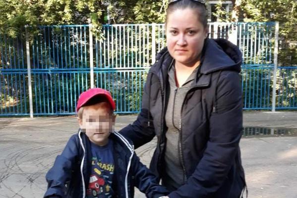 На фото пропавшие мама и сын