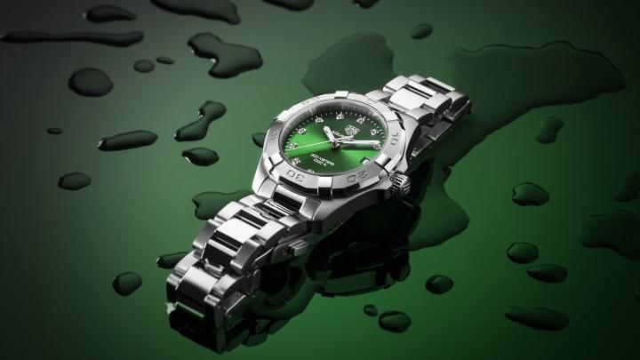 Наш город встретил новинку — удивительные часы Aquaracer от TAG Heuer