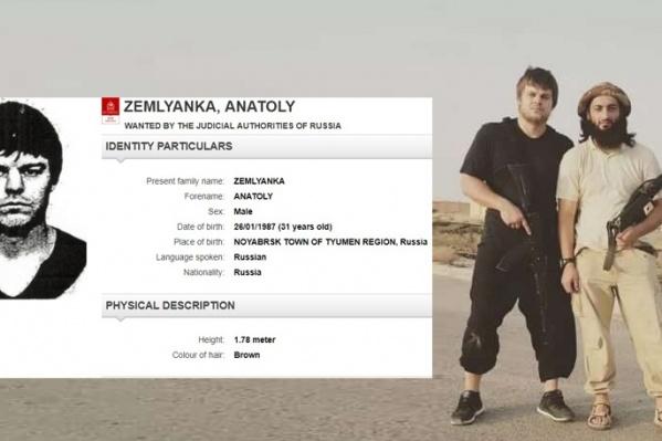 Анатолий Землянка (слева на фото) уехал воевать к боевикам, после чего попал в списки разыскиваемых