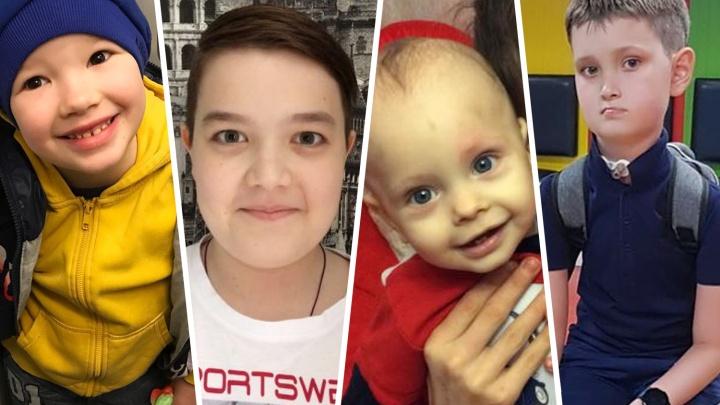 «Он заново научился дышать»: истории четверых детей, которым красноярцы собирали деньги на лечение