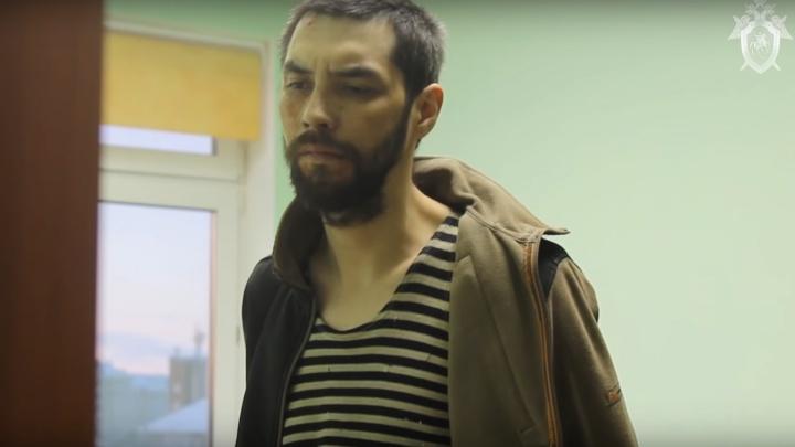 Видео с допроса убийцы ребенка в детском садике Нарьян-Мара