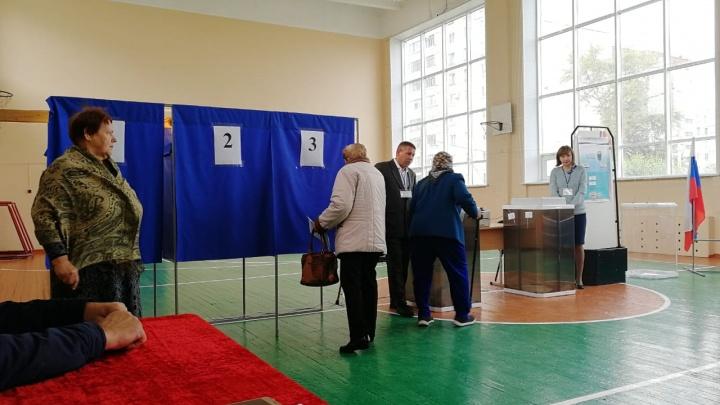 В Курганской области проголосовали почти семь процентов избирателей