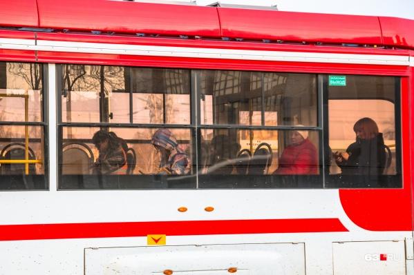 Сейчас трамвай ходит только до стадиона «Самара Арена»