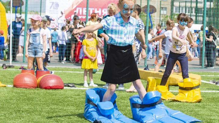 «Сильные и здоровые помогают нуждающимся»: в Новосинеглазово устроили благотворительную Спартакиаду