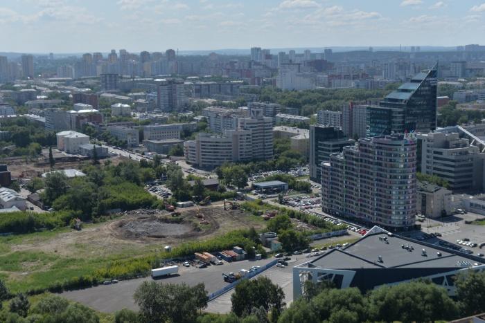 В Екатеринбурге разработали проект планировки для территории вокруг снесённой телебашни
