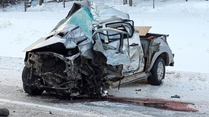 Два человека погибло в ДТП под Вельском