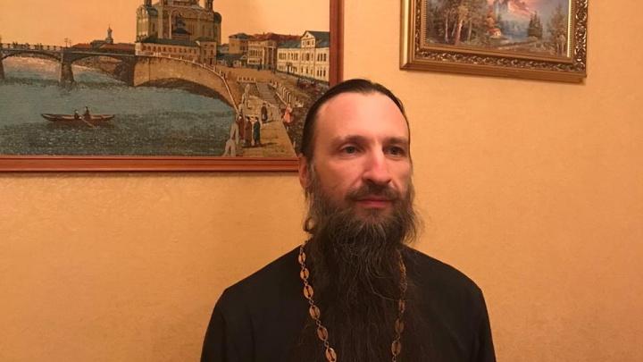 В Чимеевском монастыре, где сгорели храм и чудотворная икона, назначени. о. наместника
