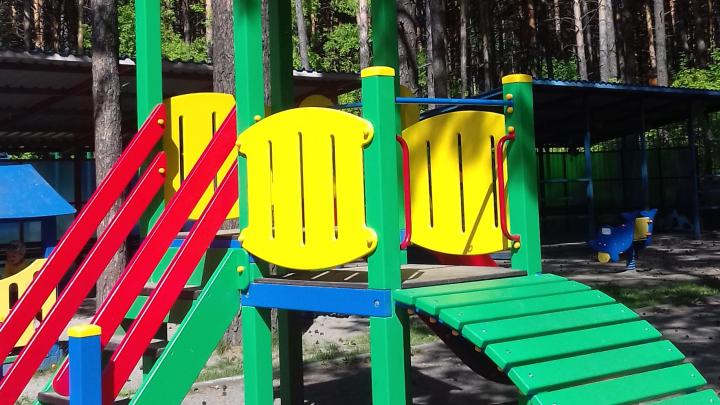 В детском саду поменяли горку, на которой задохнулась 4-летняя девочка