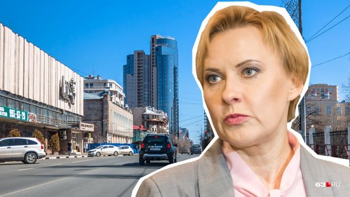 Пусть Лапушкина решит: вопрос застройки квартала на Вилоновской — Самарской отдали на откуп мэру