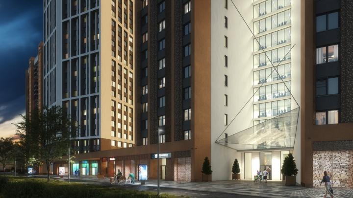 100 метров над уровнем центра: на улице Готвальда построят галерею жилых небоскрёбов