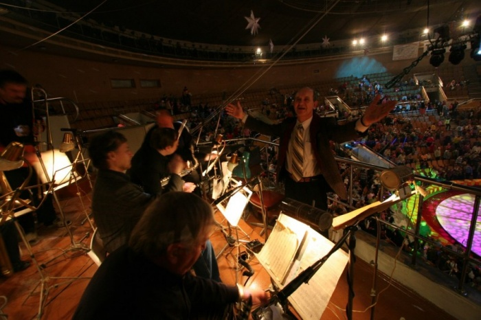 Оркестр в цирке заменят фонограммой