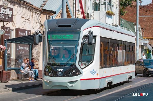 Сейчас в Ростове действует пять трамвайных маршрутов