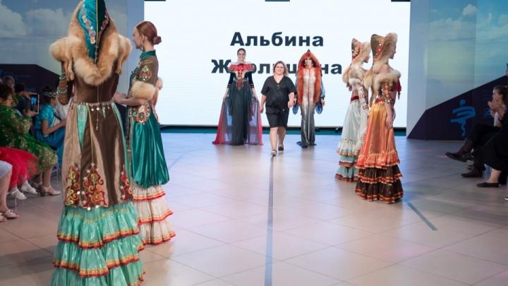 «Этноподиум» на Байкале: башкирские красавицы сразили конкурентов национальными нарядами