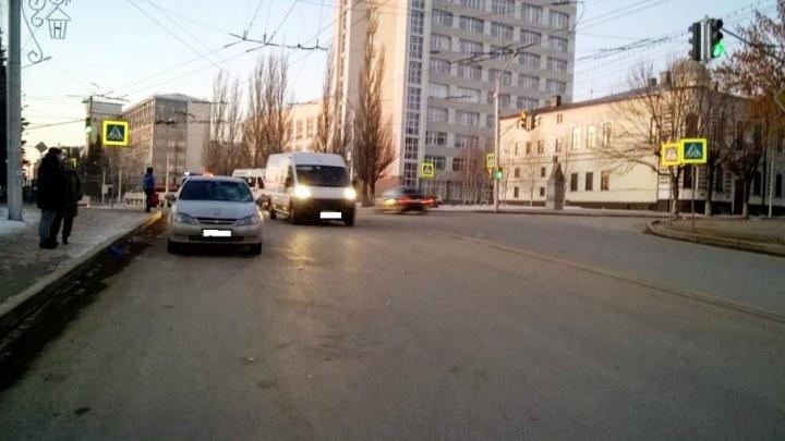 В Уфе сбили пенсионерку, которая перебегала дорогу