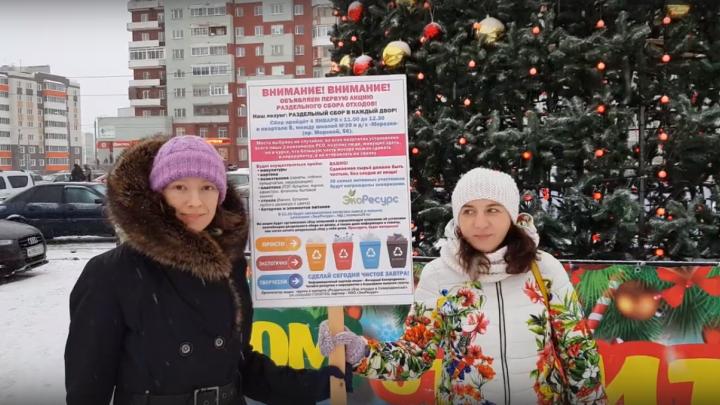 «Северодвинцы созрели для раздельного сбора отходов»: в городе корабелов соберут новогодний мусор