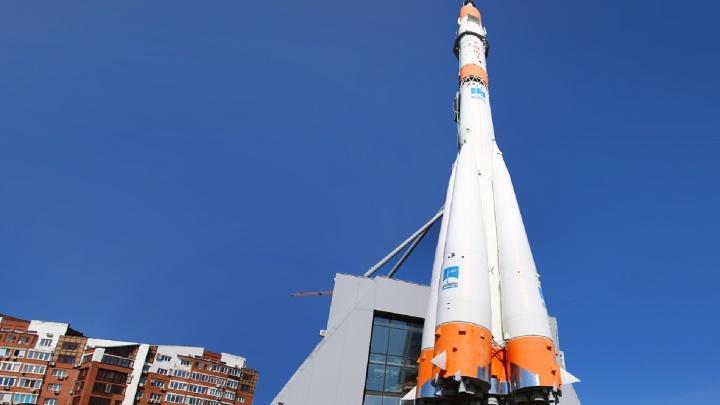 Ракету-носитель«Союз» на проспекте Ленина подсветятсветодиодами