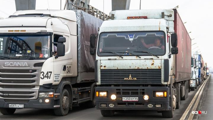 Защитят дороги: перегруженным фурам закроют въезд в Самару