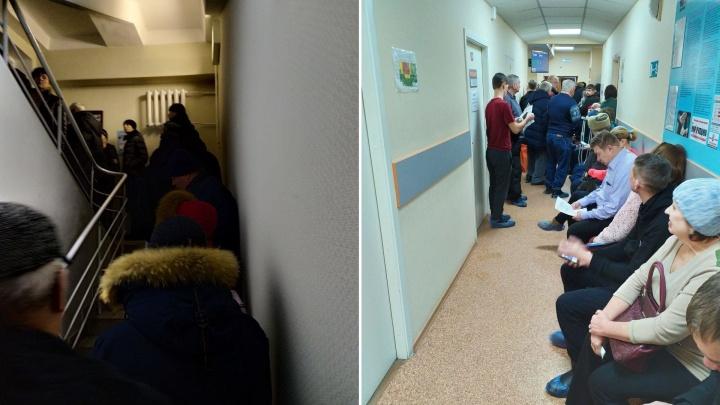 «Передо мной 40 — после меня человек 70»: новосибирцы продолжают штурмовать наркодиспансер